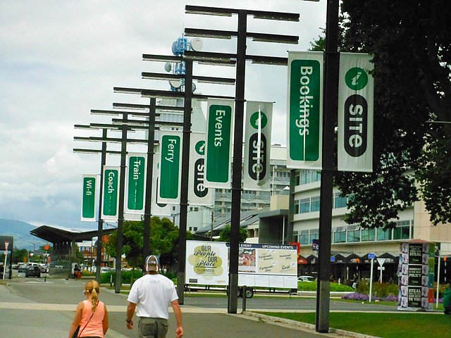 Palmerston North Site Banners.