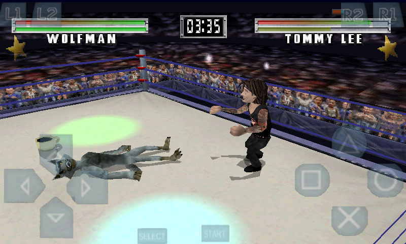 Gameplay MTV Celebrity Deathmatch