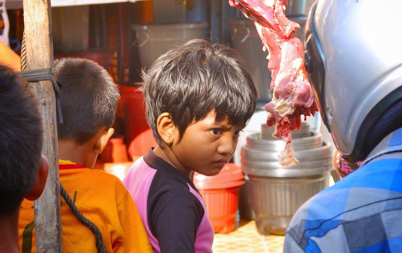 Anak penjual daging