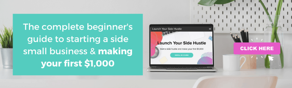 launch your side hustle course image