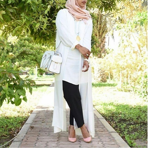 AMAZING CASUAL HIJAB OUTFITS DESIGNS FOR LADIES 2019 1