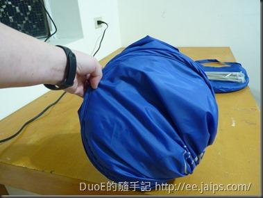 Air-O-Dry 可攜式烘乾機罩-收折1
