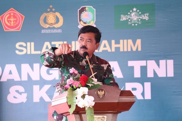 Panglima TNI : Ulama dan Umaro Miliki Peran Strategis Menjaga Persatuan dan Kesatuan Bangsa