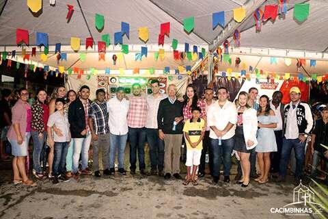 Festa de ontem em Cacimbinhas