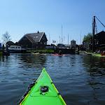 134-We varen naar de sluizen op de Diepe Dolte. Daar achter ligt het Ijsselmeer.