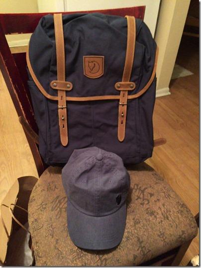 Fjallraven Number 21 Backpack Navy