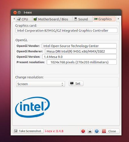 I-Nex su Ubuntu - GPU