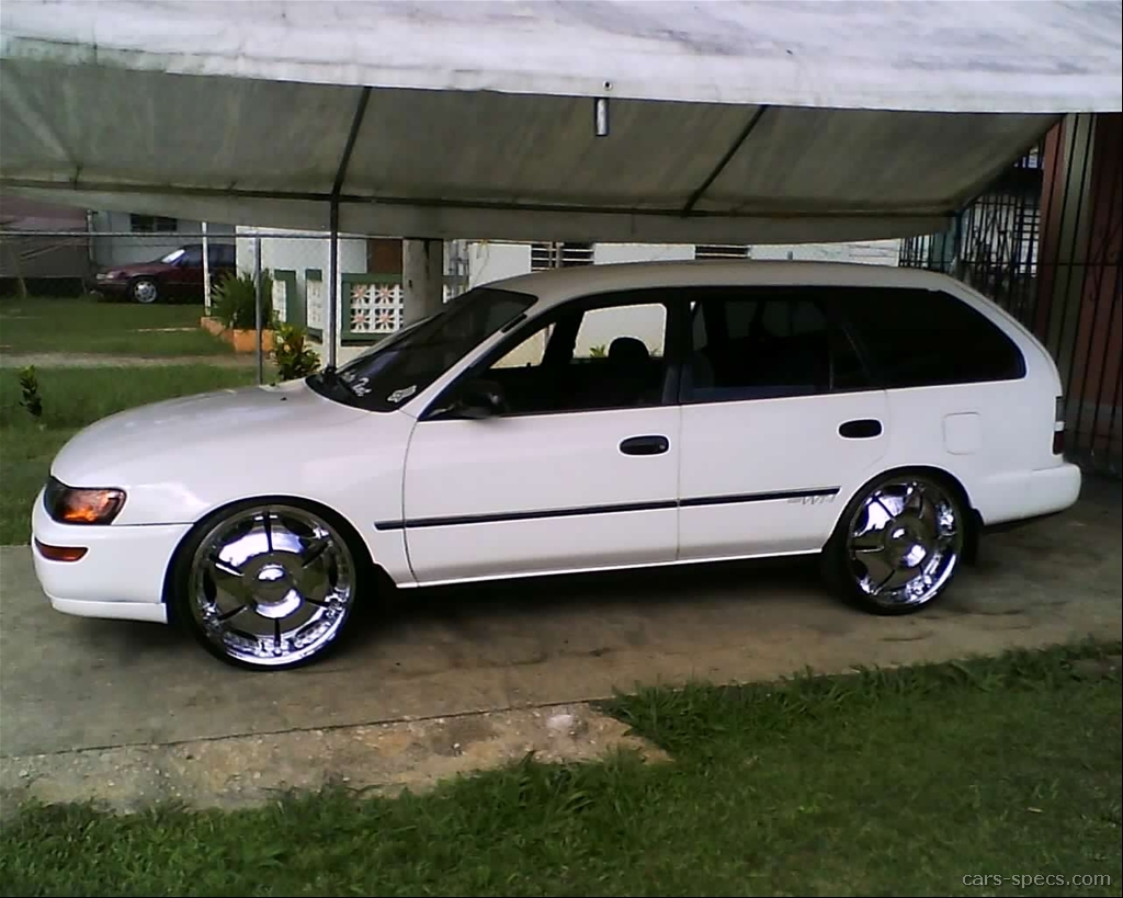 1996 toyota corolla wagon specifications pictures prices. Black Bedroom Furniture Sets. Home Design Ideas