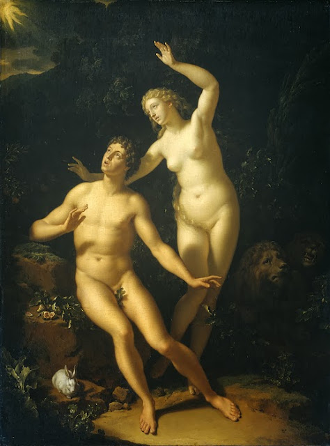 Adriaen van der Werff - God Calls Adam and Eve to Account
