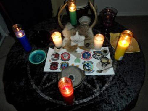 First Ever Wiccan Service For Fallen Airmen At Edwards Air Force Base Ca