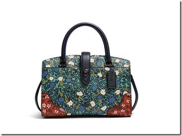 57703_Multi Floral Print Mercer 24 Satchel