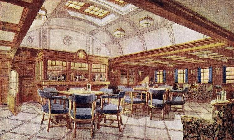 16-Salón fumador de Lujo.Libro de Información para el Pasajero.1913-1914. CTE.jpg