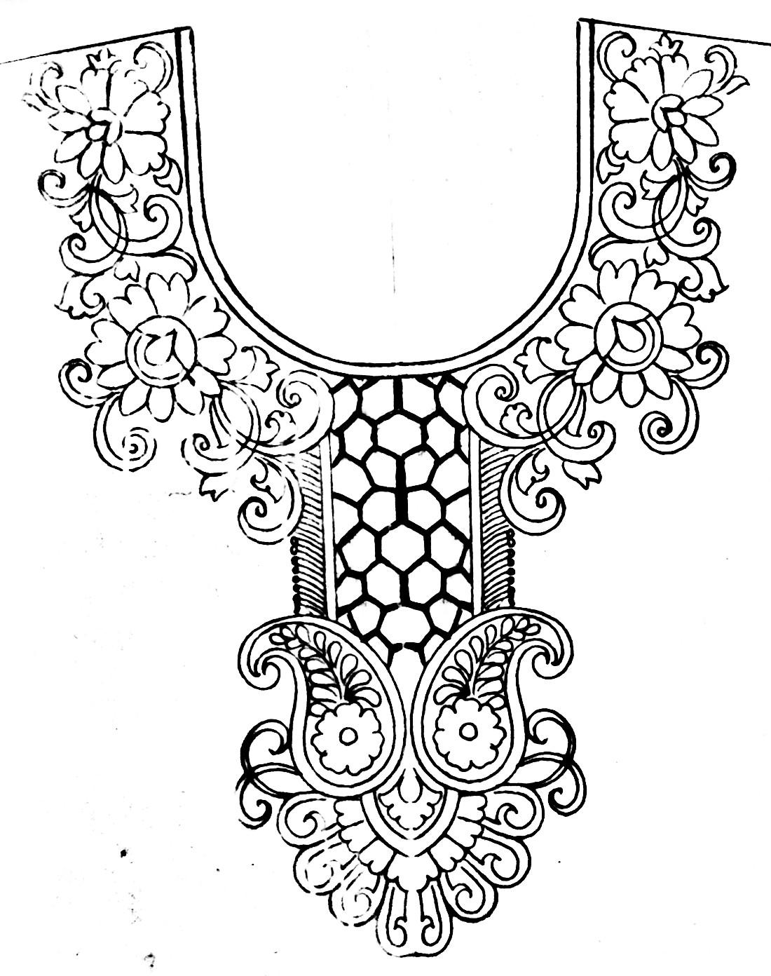 Jamar golar design/Jamar golar hater kajer/জামার হাতের কাজের ডিজাইন
