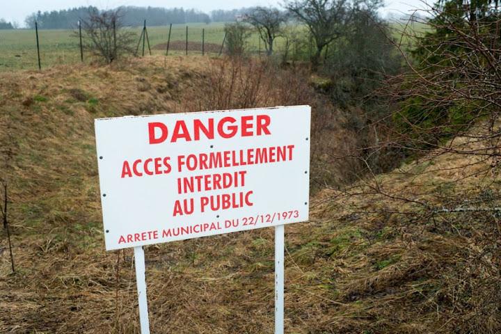 Zone Rouge, as zonas proibidas da França