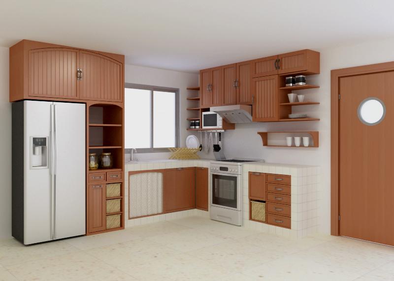cm carpinteria proyectos On distribucion de cocina integral
