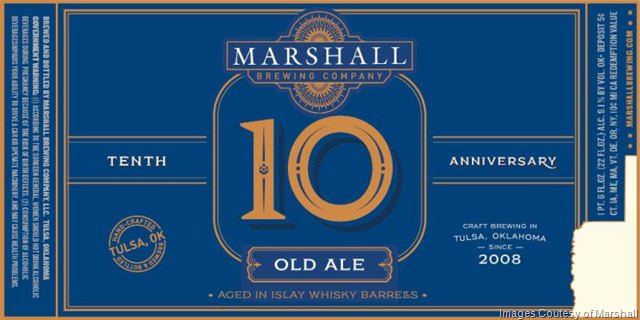 Marshall Brewing Releasing Six 10th Anniversary Beers