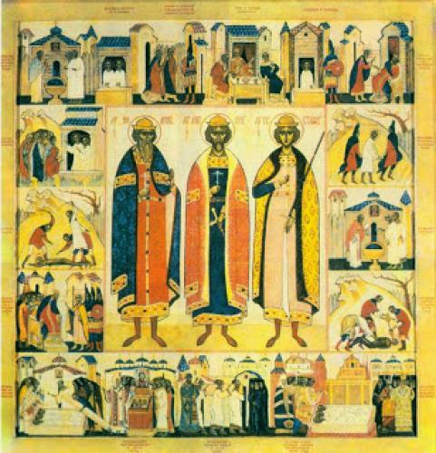 The Holy Martyrs Anthony John And Eustathius Of Vilnius Lithuania
