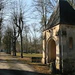 Abbaye de Royaumont : entrée nord