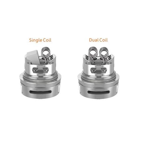 geekvape ammit dual coil rta 3  thumb%25255B3%25255D - 【RTA】「Geekvape AMMIT Dual Coil Version RTA」ポストレスデッキ、シングル/デュアルコイル対応。6ml/3mlタンク切り替えできる万能RTA登場