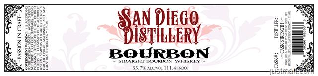 San Diego Distillery - Bourbon
