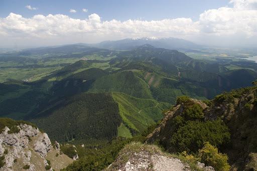Chočské vrchy a Roháče