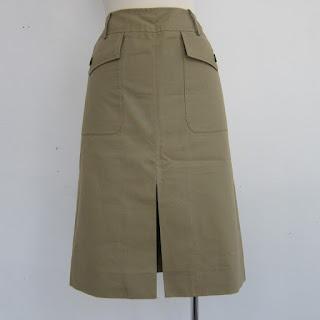Valentino Safari Skirt