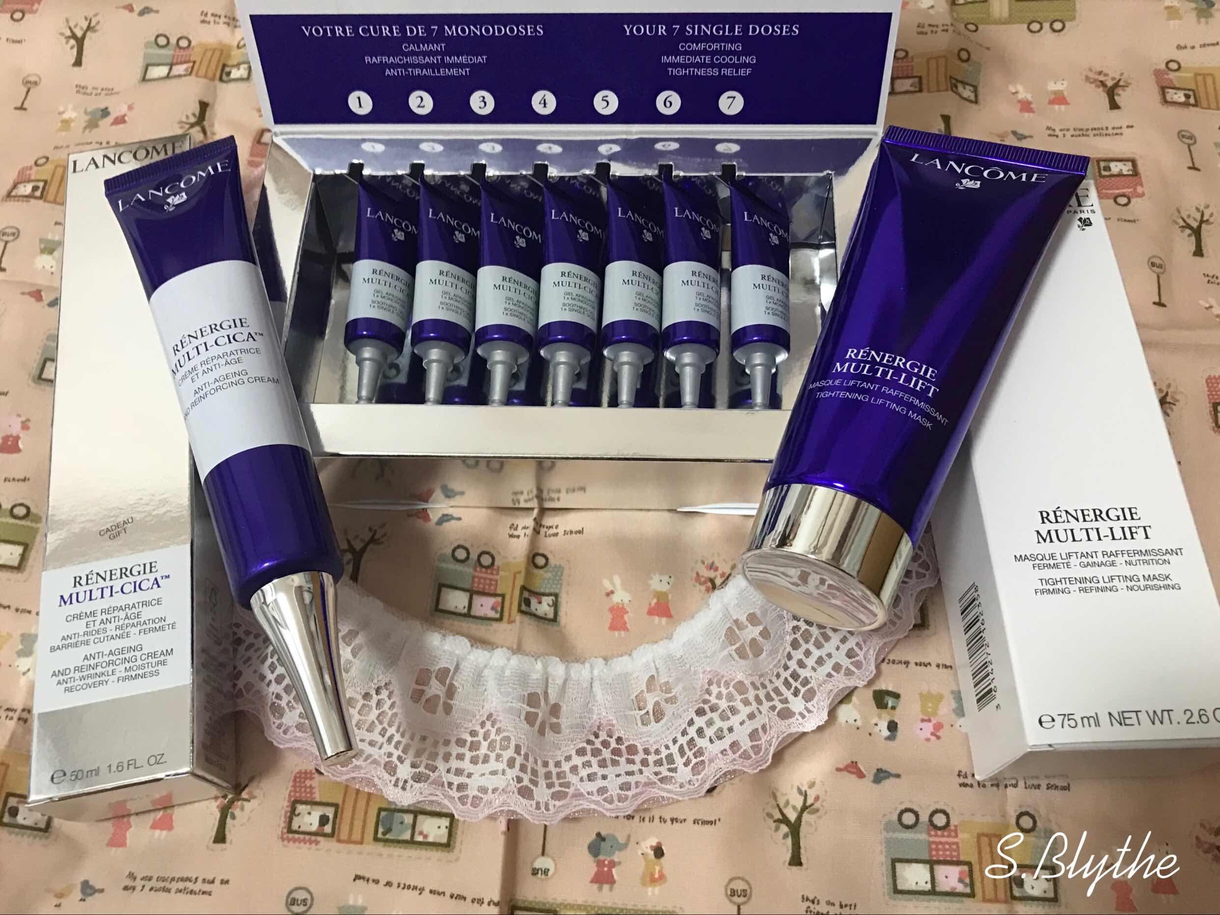 Lancôme Rénergie 3款立體塑顏緊緻系列新產品在香港率先有售