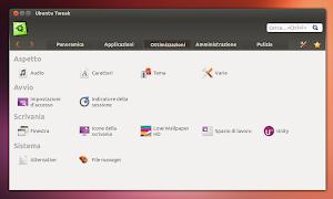 Ubuntu Tweak 0.8.5 su Ubuntu 13.04 Raring