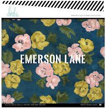 Heidi Swapp Single-Sided Paper Pad 12X12 36/Pkg - Emerson Lane  UTGÅENDE