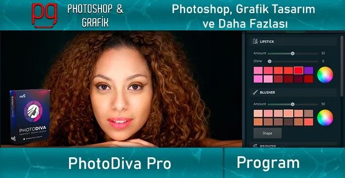 Portre ve Düğün Fotoğrafları Düzenleme Programı PhotoDiva Pro