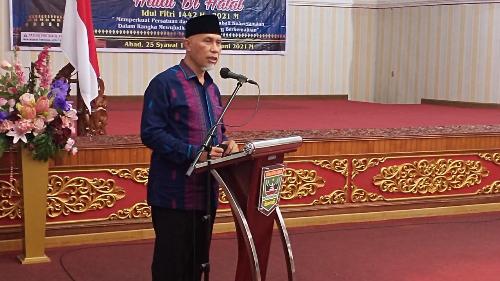 Gelar Halal Bi Halal, Muhammadiyah Rajut Kebersamaan Membangun Sumbar