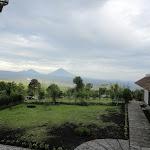 Mount Agung and Batur Silhouette