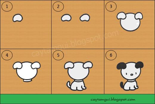 Hướng dẫn vẽ con chó