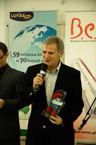 dr hab., prof. UE Leon Jakubów - najlepszy promotor / fot. Bartosz Burek
