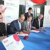 MOU Signing Ceremony Between UCSI University and British Council for IELTS