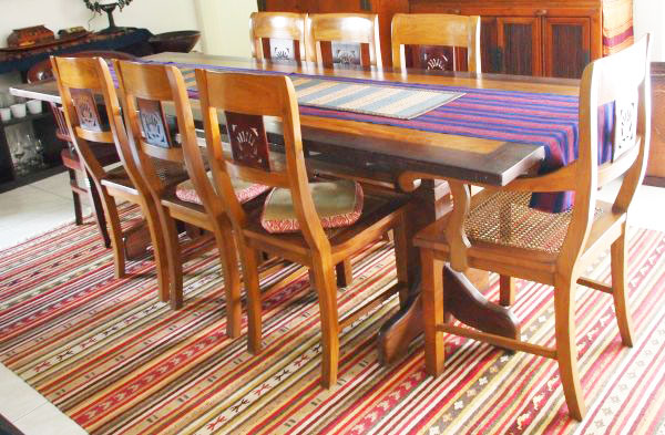 5 sets of dining table with chairs prices from 250 to 850
