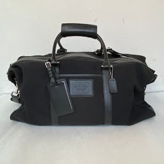 Coach Black Weekender Bag