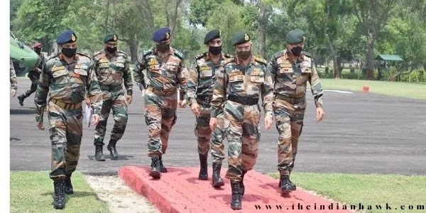 Chief Of Army Staff (CoAS) General M M Naravane visited forward areas in Jammu division