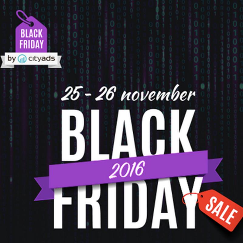 Black Friday: Harga Hebat , Jimat Pun Jimat oleh CityAds