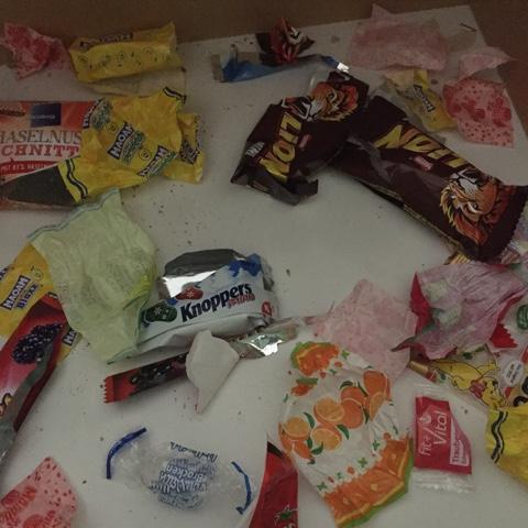 Süßigkeitenschublade