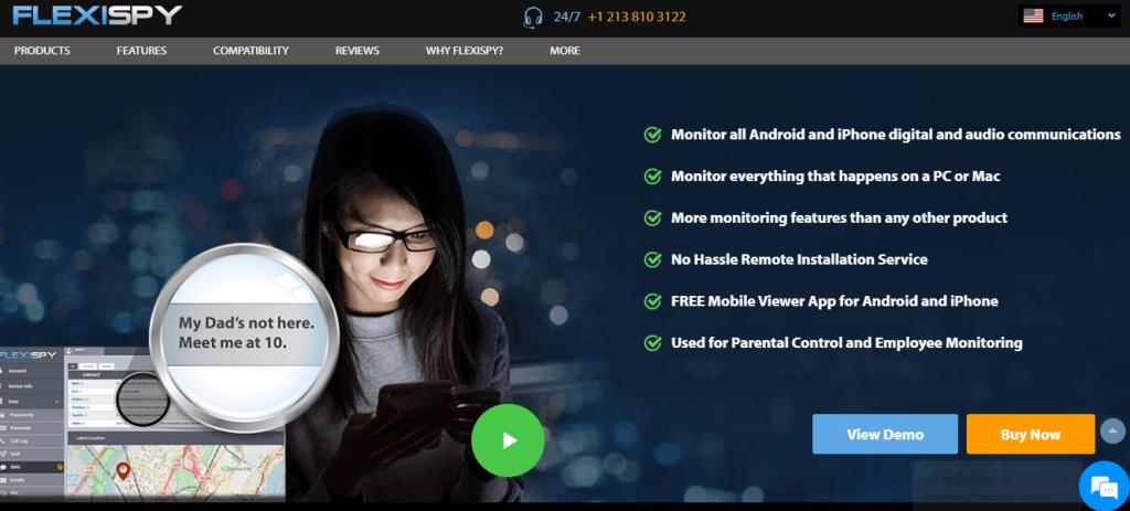 تحميل برنامج flexispy التجسس على الهاتف ايفون اندرويد
