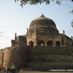 Un mausolée à proximité de Qtub Minar, Delhi