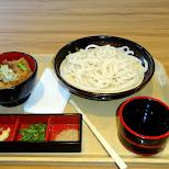 cold noodles + kirin beer in Roppongi, Tokyo, Japan