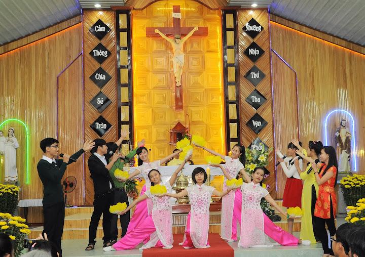 Thánh lễ đầu năm mới Giáo xứ Song Mỹ