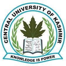 CUK-Kashmir Admissions 2020 | Merit List/Short List of Various Subjects