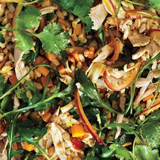 Curried Spelt Salad