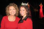 Karen Borta and Miss Fort Worth, Faith Bates.