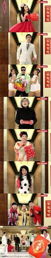 「福祿壽」變身巨星拍攝超市廣告