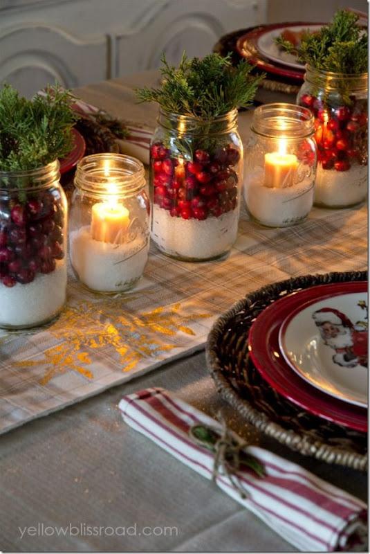 5 centrotavola per la cena di Natale last minute
