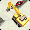 Heavy Excavator Snow Simulator icon